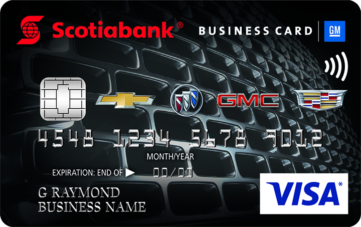 Choose your card gm card scotiabank gm visa business card colourmoves